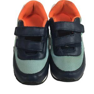 H&M Toddlers Blue & Orange Size 10.5 Sneakers